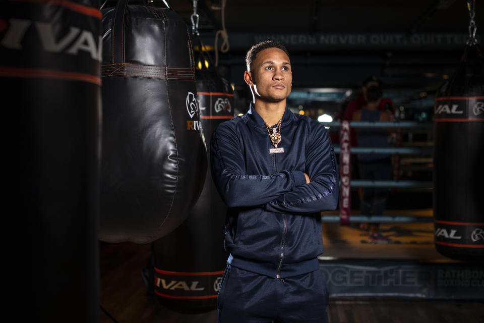 LONDON, ENGLAND - OCTOBER 17: Regis Prograis poses for a portrait during a Media Workout at Rathbone Boxing Club on October 17, 2019 in London, England. (Photo by Justin Setterfield/Getty Images)