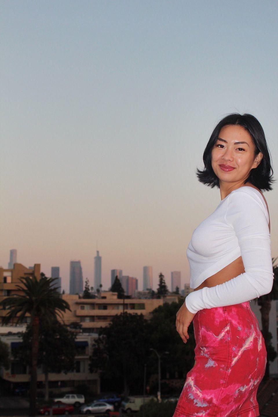 """<p>Age: 28</p><p>Hometown: Cypress, CA</p><p>Instagram: <a href=""""https://www.instagram.com/kimawaywithme/"""" rel=""""nofollow noopener"""" target=""""_blank"""" data-ylk=""""slk:@kimawaywithme"""" class=""""link rapid-noclick-resp"""">@kimawaywithme</a> </p><p>This """"professional dumpling"""" is a bona fide travel blogger with the best Instagram handle in history. But since travel isn't much of a thing these days, she works as a registered nurse and has been documenting her experience working during the pandemic on Instagram for her followers to see. </p>"""
