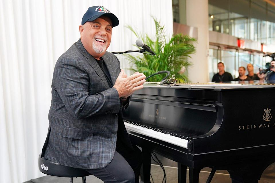 "<p><strong>Number of Marriages: </strong>4</p> <p>The <a href=""https://people.com/tag/billy-joel/"" rel=""nofollow noopener"" target=""_blank"" data-ylk=""slk:piano man"" class=""link rapid-noclick-resp"">piano man</a> has been married four times, first to Elizabeth Weber from 1973 to 1982, and then to his <a href=""https://people.com/style/christie-brinkley-social-life-magazine-billy-joel-singalaongs/"" rel=""nofollow noopener"" target=""_blank"" data-ylk=""slk:&quot;Uptown Girl&quot; Christie Brinkley"" class=""link rapid-noclick-resp"">""Uptown Girl"" Christie Brinkley</a> from 1985 to 1994. He married chef Katie Lee in 2004 and the pair split in 2010. He is currently married to Alexis Roderick; they wed in 2015. </p>"