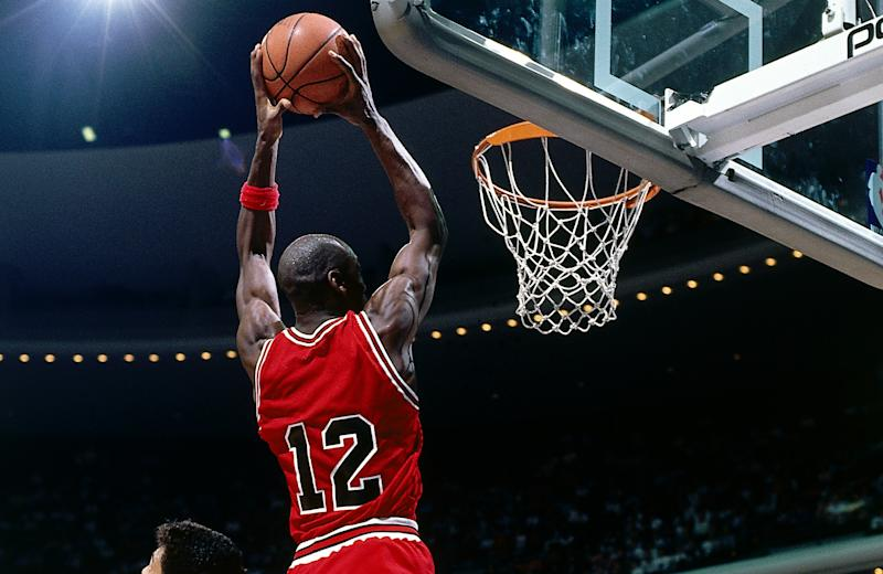 Maybe the Magic defense forgot it was Michael Jordan wearing No. 12. (Fernando Medina/NBAE via Getty Images)