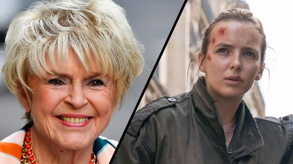 Veteran TV presenter Gloria Hunniford is not impressed with Phoebe Waller-Bridge's comments about violence (Reuters/BBC)