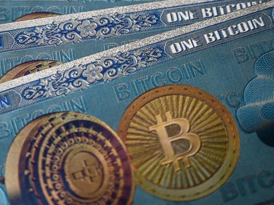 Bitcoin crashed in price below $30,000 after hitting an all-time high in April of $64,000, but returned back above $50,000 on 23 August, 2021 (AFP via Getty Images)