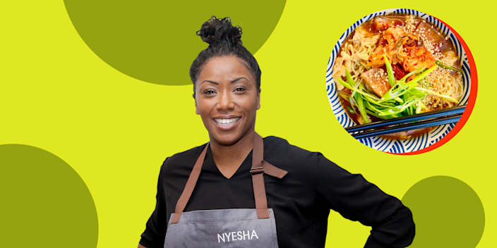 Nyesha Get Cooking (Getty Images)