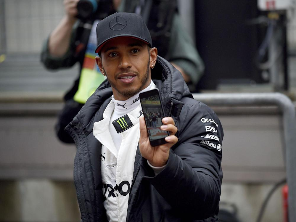Lewis Hamilton tweeted his ideas for how Formula One could be improved through a shorter weekend: Getty