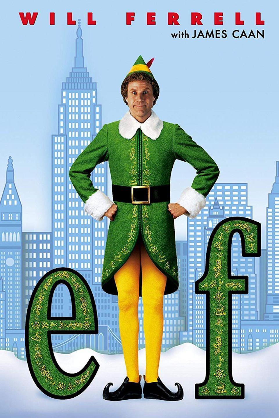 """<p>Even though this movie only came out in 2003, its tale of a human man raised as an elf making his way in New York City has quickly become a holiday classic.</p><p><a class=""""link rapid-noclick-resp"""" href=""""https://www.amazon.com/Elf-Will-Ferrell/dp/B0091VTNZC/?tag=syn-yahoo-20&ascsubtag=%5Bartid%7C10055.g.1315%5Bsrc%7Cyahoo-us"""" rel=""""nofollow noopener"""" target=""""_blank"""" data-ylk=""""slk:WATCH NOW"""">WATCH NOW</a></p>"""