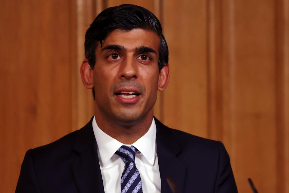 Chancellor of the Exchequer Rishi Sunak (Getty Images)