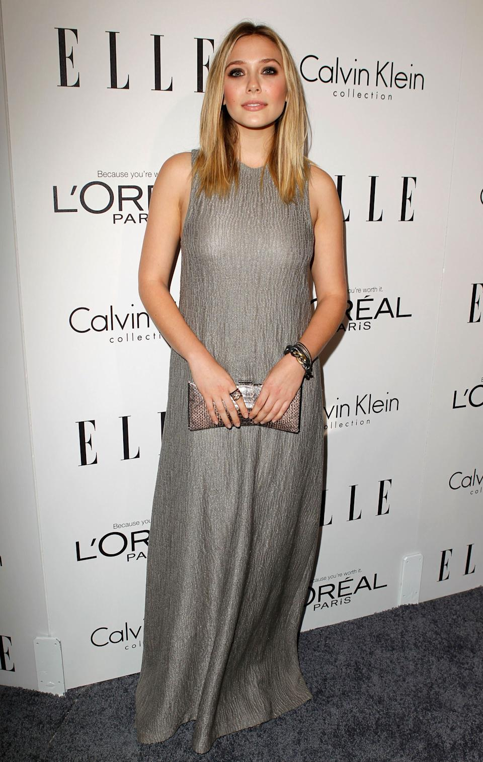 Olsen at ELLE's 18th Annual Women in Hollywood Tribute in Beverly Hills on Oct. 17, 2011.