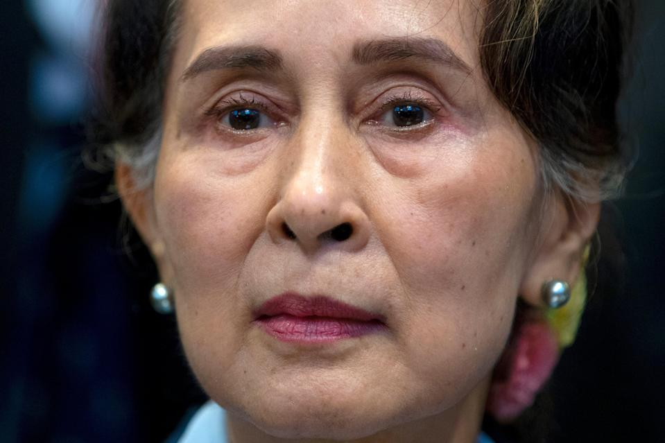 Myanmar's Aung San Suu Kyi faces six other charges relating to illegal imports of walkie-talkies and inciting public unrest (Copyright 2019 The Associated Press. All rights reserved)