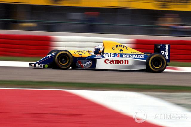 "1993 - Williams FW15C <span class=""copyright"">Sutton Motorsport Images</span>"