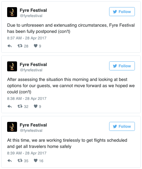 Luxury Fyre Festival Postponed After Tumultuous Opening Day