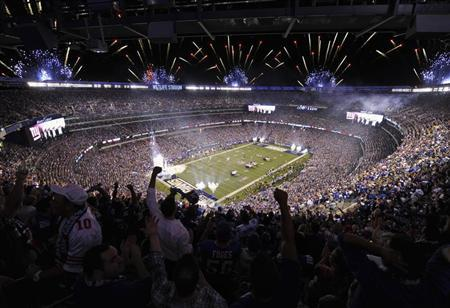 A 2012 file photo shows an overall view of the Metlife Stadium in East Rutherford, New Jersey