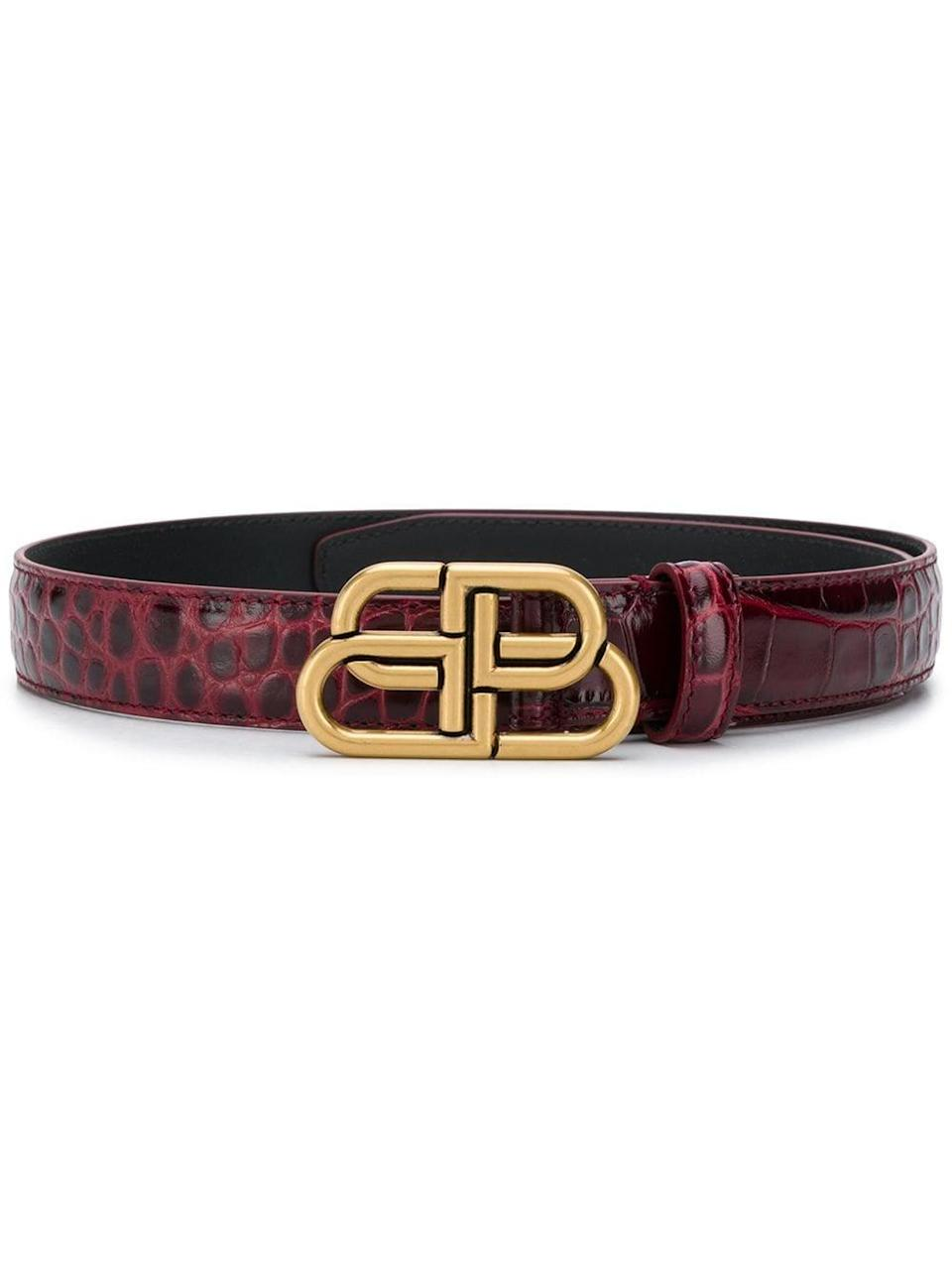 <p>The <span>Balenciaga BB Thin Belt</span> ($420) is unique and underrated.</p>