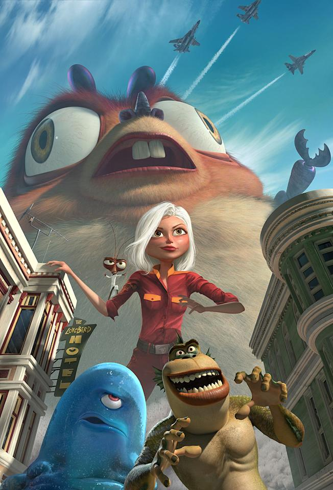 """9. <a href=""""http://movies.yahoo.com/movie/1809918074/info"""">Monsters Vs. Aliens</a>  Total Gross: $198,351,526    In a crowded field of animated titles this year, this monstrous adventure towered over the pack, stepping into the top ten with one of the biggest spring opening weekends ever."""