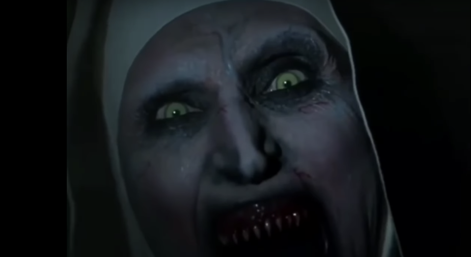 A new trailer for <em>The Nun</em> has a jump scare that's not for the faint of heart. (Photo: New Line/Warner Bros.)