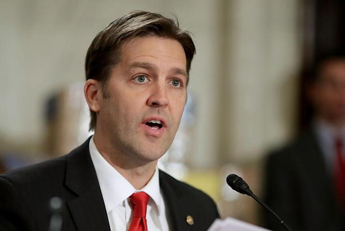 Sen. Ben Sasse, R-Neb., on Capitol Hill Jan. 10, 2017. (Photo: Chip Somodevilla/Getty Images)