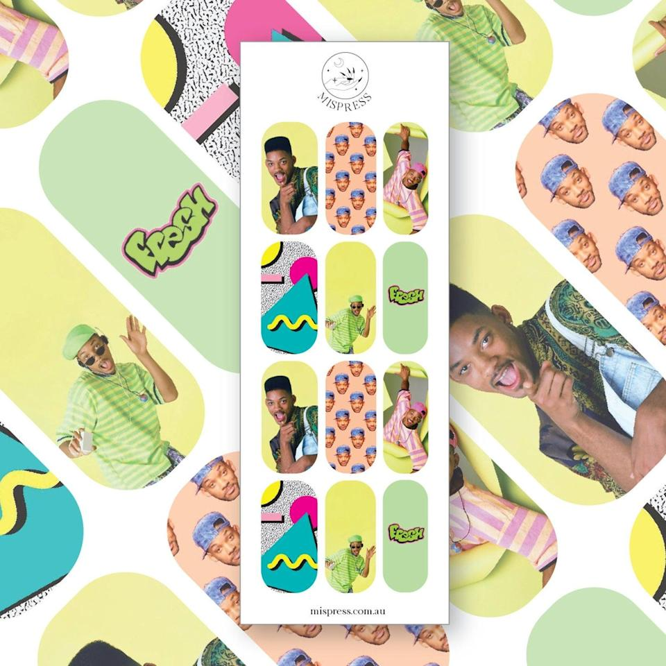 <p>So many gems in this set of <span>Fresh Prince Nail Decals</span> ($7). </p>