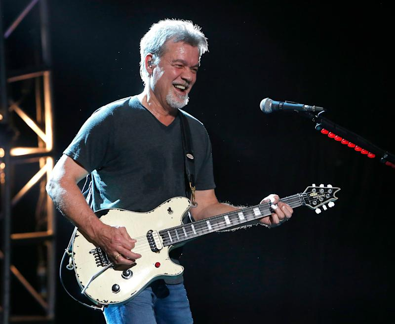 Eddie Van Halen Living Best Life Despite Cancer Treatment