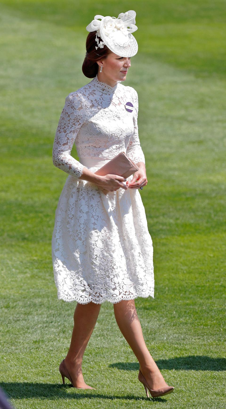 Catherine, Duchess of Cambridge attends day 1 of Royal Ascot - Max Mumby