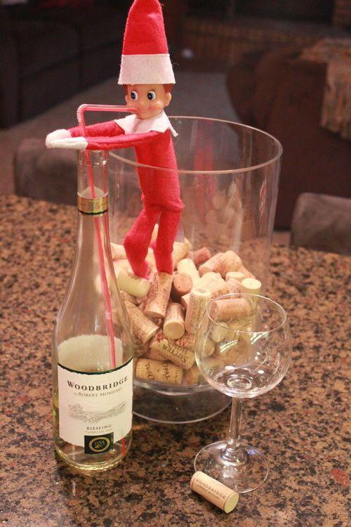 """<p>After the kids have gone to sleep, break out ol' <a href=""""https://www.countryliving.com/diy-crafts/g22690552/funny-elf-on-the-shelf-ideas/"""" rel=""""nofollow noopener"""" target=""""_blank"""" data-ylk=""""slk:Elf on the Shelf"""" class=""""link rapid-noclick-resp"""">Elf on the Shelf</a> and have an adults-only contest to see who can come up with the funniest placement.</p><p><strong>Get the details at <a href=""""http://mommysavers.com/elf-on-the-shelf-ideas-for-adults/"""" rel=""""nofollow noopener"""" target=""""_blank"""" data-ylk=""""slk:Mommy Savers"""" class=""""link rapid-noclick-resp"""">Mommy Savers</a>.</strong></p><p><a class=""""link rapid-noclick-resp"""" href=""""https://www.amazon.com/s/?ref=nb_sb_noss_2%3Furl%3Dsearch-alias%3Daps&field-keywords=elf+on+the+shelf&rh=i%3Aaps%2Ck%3Aelf+on+the+shelf&tag=syn-yahoo-20&ascsubtag=%5Bartid%7C10050.g.22718533%5Bsrc%7Cyahoo-us"""" rel=""""nofollow noopener"""" target=""""_blank"""" data-ylk=""""slk:SHOP ELF ON THE SHELF"""">SHOP ELF ON THE SHELF</a></p>"""