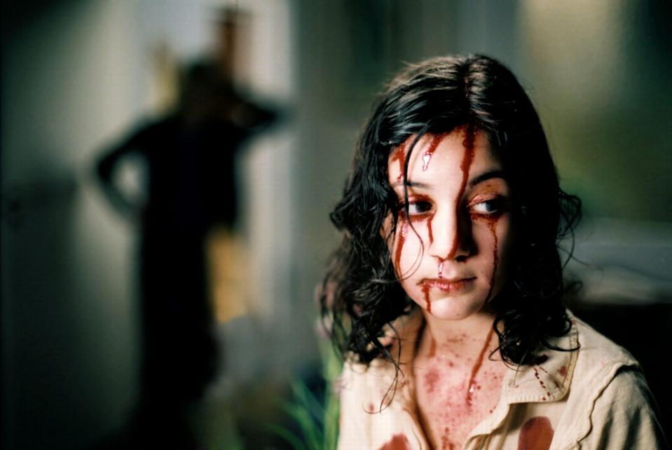 "The film, ""Let the Right One In,"" is based on the novel by John Ajvide Lindqvist."