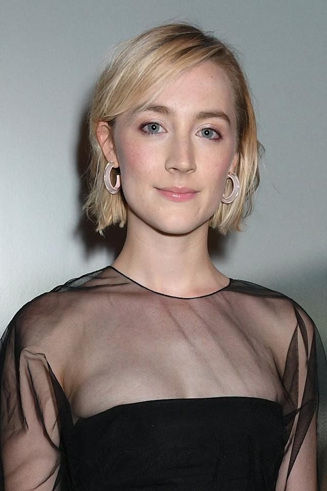 "<p>It's a big <strong>Ladybird</strong> reunion! Gerwig's former leading lady, Saoirse Ronan, is back to lead the director's second film, playing the protagonist and second-eldest sister, Josephine ""Jo"" March. </p>"