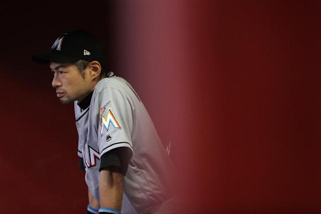 The 44-year-old Ichiro has rejoined the Seattle Mariners after a spell with the Miami Marlins (AFP Photo/Christian Petersen)