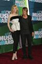 at the CMT music awards with Keith earlier this month in a top by Balenciaga