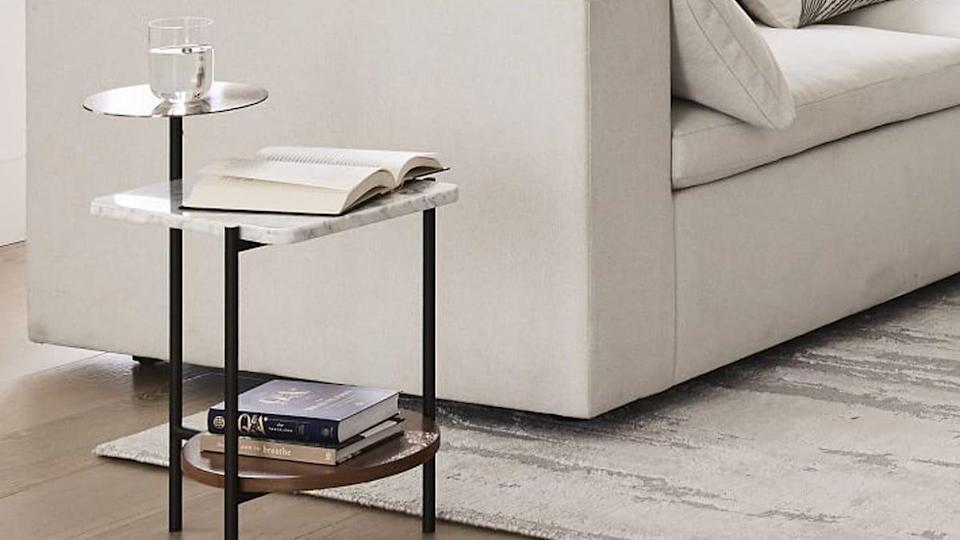 This Eclipse Side Table is one of West Elm's best-selling items and you can get it for less than $100.