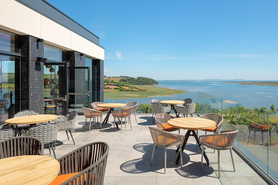 Seaviews from the Milk Wood House Bar and Restaurant (Luxury Lodges/PA)