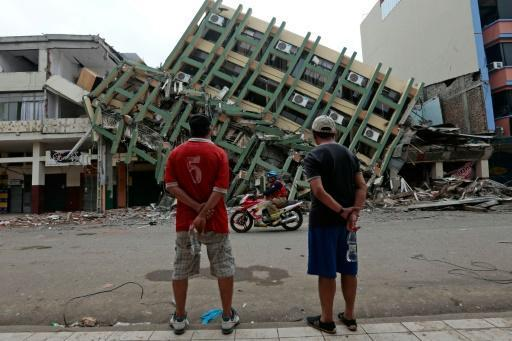 New aftershocks shake Ecuador still reeling from quake