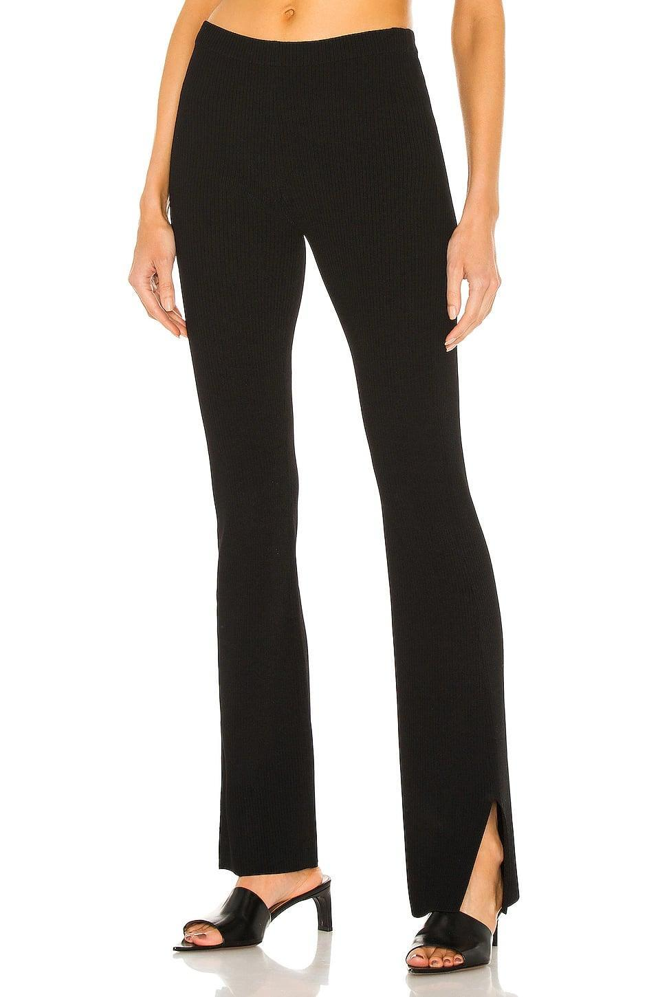 <p>Speaking of a great black pant, may we introduce you to the <span>Aya Muse Jacques Pant</span> ($341, originally $378)? The flared leg with little side slits are so chic.</p>