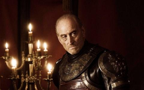 Charles Dance as Tywin Lannister - Credit: HBO