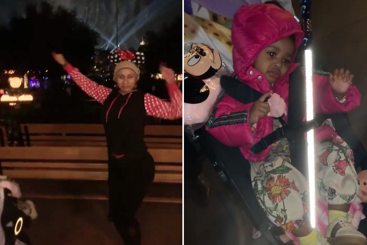 """It's a Disneyland party with Cardi! The rapper took her 15-month-old daughter, Kulture, to the Happiest Place on Earth for an evening full of rides, snacks and plenty of mother-daughter bonding. The <em>Peter Pan</em> ride was a favorite according to her <a href=""""https://www.instagram.com/iamcardib/?hl=en"""">Instagram story</a>!"""