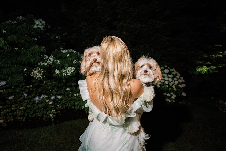 It was honestly so special having our dogs at the wedding. They knew it was an important day for me. We are mutually obsessed with each other, and they were my little cheerleaders the whole time!