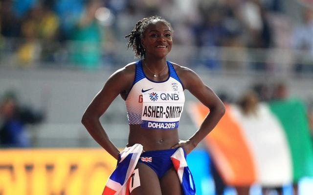 Asher-Smith will hope to go one better in the 200m in Doha (Mike Egerton/PA)