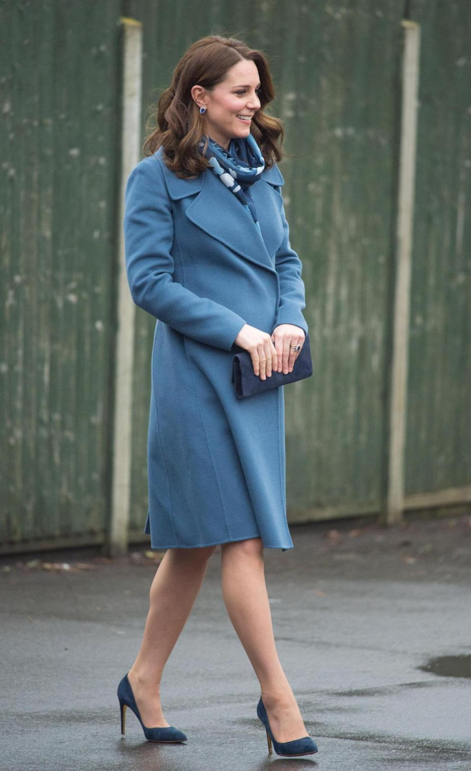 The Duchess of Cambridge suffered severe morning sickness during her first pregnancy (Splash News)
