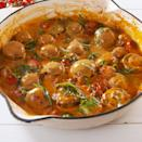 """<p>These mushrooms are rich and creamy with pops of brightness from the cherry tomatoes. It's the perfect easy side dish. </p><p>Get the <a href=""""https://www.delish.com/uk/cooking/recipes/a31149487/tuscan-butter-mushrooms-recipe/"""" rel=""""nofollow noopener"""" target=""""_blank"""" data-ylk=""""slk:Tuscan Butter Mushrooms"""" class=""""link rapid-noclick-resp"""">Tuscan Butter Mushrooms</a> recipe. </p>"""