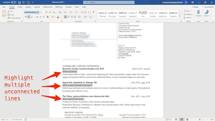 14   Microsoft Word tips and tricks