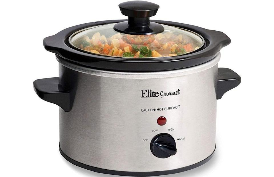 """<p>Sometimes dining hall food can't measure up to the stuff you make at home. On days when that's the case, keep a <a href=""""https://www.amazon.com/MST-250XS-Electric-Adjustable-Dishwasher-Stainless/dp/B008GS8R3K/ref=sr_1_3?dchild=1&amp%3Bgclid=CjwKCAjw1JeJBhB9EiwAV612y-sM6V4oY14jB-zGHgmZlgLpqjJMGUBT0qSO-jYaUDbFpVOMJzhBAhoCXasQAvD_BwE&amp%3Bhvadid=241616333734&amp%3Bhvdev=c&amp%3Bhvlocphy=9004347&amp%3Bhvnetw=g&amp%3Bhvqmt=e&amp%3Bhvrand=9232296519515327140&amp%3Bhvtargid=kwd-174169576&amp%3Bhydadcr=13933_10209261&amp%3Bkeywords=small+slow+cooker&amp%3Bqid=1629900803&amp%3Bsr=8-3%2Fref%3Das_li_tl%3Fie%3DUTF8&amp%3Bcamp=1789&amp%3Bcreative=9325&amp%3BcreativeASIN=&amp%3BlinkCode=as2&amp%3Btag=thedailymeal-editorial-referral-20&referrer=yahoo&category=beauty_food&include_utm=1&utm_medium=referral&utm_source=yahoo&utm_campaign=feed"""" rel=""""nofollow noopener"""" target=""""_blank"""" data-ylk=""""slk:slow cooker"""" class=""""link rapid-noclick-resp"""">slow cooker</a> in your room to make <a href=""""https://www.thedailymeal.com/best-recipes/15-soups-and-stews-will-keep-you-warm-winter-slideshow?referrer=yahoo&category=beauty_food&include_utm=1&utm_medium=referral&utm_source=yahoo&utm_campaign=feed"""" rel=""""nofollow noopener"""" target=""""_blank"""" data-ylk=""""slk:soups and stews"""" class=""""link rapid-noclick-resp"""">soups and stews</a>, <a href=""""https://www.thedailymeal.com/recipes/pulled-pork-shoulder-recipe?referrer=yahoo&category=beauty_food&include_utm=1&utm_medium=referral&utm_source=yahoo&utm_campaign=feed"""" rel=""""nofollow noopener"""" target=""""_blank"""" data-ylk=""""slk:pulled pork"""" class=""""link rapid-noclick-resp"""">pulled pork</a> and <a href=""""https://www.thedailymeal.com/best-recipes/101-best-slow-cooker-recipes-slideshow?referrer=yahoo&category=beauty_food&include_utm=1&utm_medium=referral&utm_source=yahoo&utm_campaign=feed"""" rel=""""nofollow noopener"""" target=""""_blank"""" data-ylk=""""slk:more superb slow cooker recipes"""" class=""""link rapid-noclick-resp"""">more superb slow cooker recipes</a>. Opt for a smaller version of the app"""