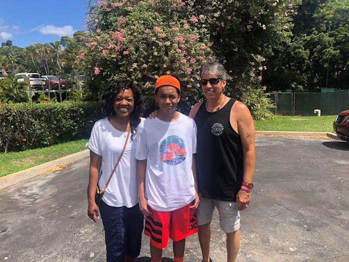 Stephanie and Jesse Rodriguez and their son, James, visited Maui for a month this summer after missing their trip in 2020 due to the pandemic.