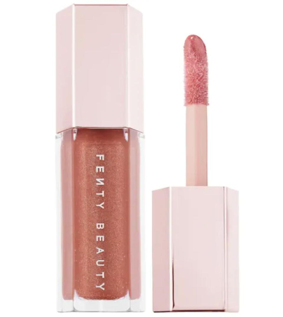 "Rihanna's beauty brand is home to best-selling skin care and makeup.Shop this <a href=""https://fave.co/30VqDNw"" target=""_blank"" rel=""noopener noreferrer"">Fenty Beauty by Rihanna Gloss Bomb Universal Lip Luminizer</a> that's a favorite of Sephora Beauty Director <a href=""https://www.instagram.com/myieshamua/"" target=""_blank"" rel=""noopener noreferrer"">Myiesha Sewell</a>."