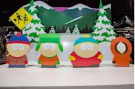 """<p>This one is still on the air, and <a href=""""https://variety.com/2019/tv/news/south-park-renewed-season-26-comedy-central-1203333431/"""" rel=""""nofollow noopener"""" target=""""_blank"""" data-ylk=""""slk:renewed through season 26"""" class=""""link rapid-noclick-resp"""">renewed through season 26</a>, but has been causing controversy since its first episode aired. It's rude and crude, and often very violent. It features the Cartman character who was voted <a href=""""https://www.seniorliving.org/research/what-we-find-offensive-on-tv/"""" rel=""""nofollow noopener"""" target=""""_blank"""" data-ylk=""""slk:the most offensive character of all time by Senior Living"""" class=""""link rapid-noclick-resp"""">the most offensive character of all time by <em>Senior Living</em></a>. Creators Trey Parker and Matt Stone use their cutely animated kids to get away with a lot. While there are a lot of other cartoon series who push the envelope, pitching a subversive show like this...even as comedy fodder...would definitely ruffle a lot of network feathers and likely not make it to air.</p>"""