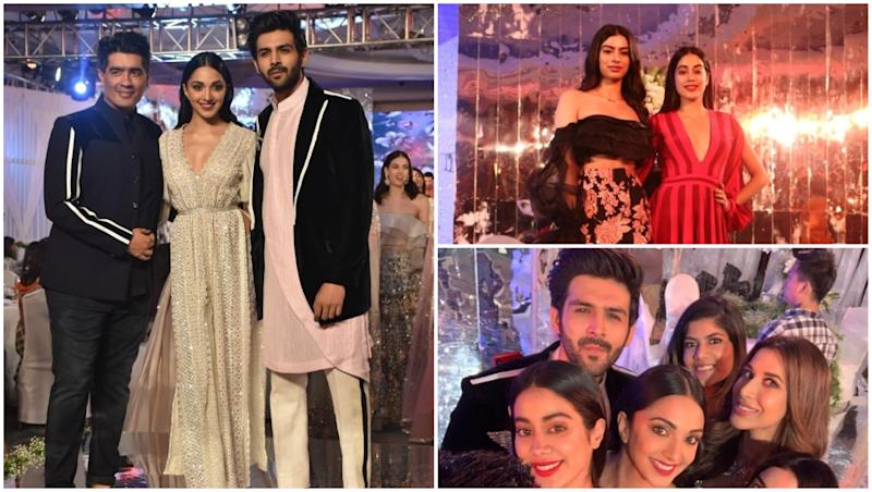 Manish Malhotra Festive Collection 2018: Kiara Advani, Janhvi Kapoor, Ananya Panday, Tara Sutaria Attend the Fashion Show (View Pics)