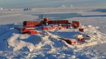 General view of Chile's Bernardo O'Higgins army base at Antarctica