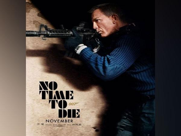 Poster of 'No Time To Die' (Image courtesy: Instagram)