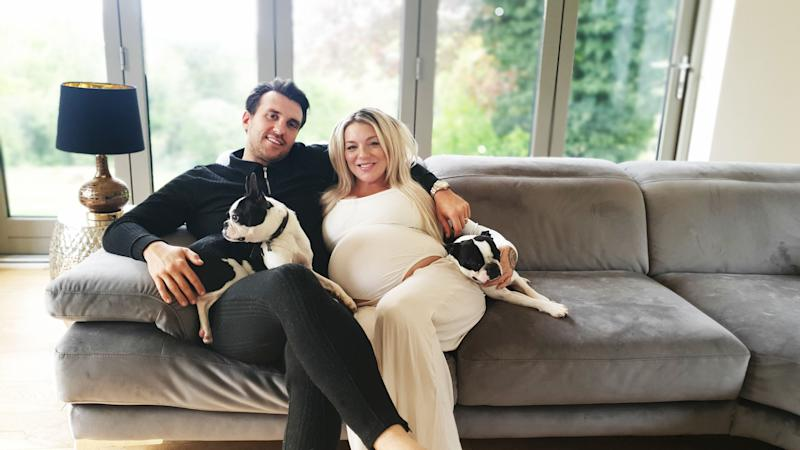 Sheridan Smith and fiance Jamie Horn are loving family life. (ITV)