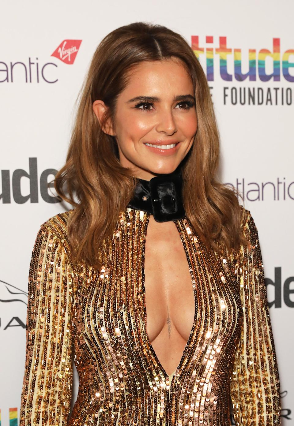 <p>Cheryl at last year's awards</p>Dave Benett/Getty Images