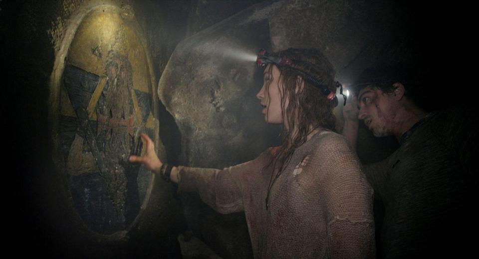 "<p>Found-footage horror movies may not be the cultural force that they were, but <em>As Above So Below</em> makes best use of the conceit. It follows a grew looking for treasures in the Paris catacombs, until they discover they're not alone in the tunnels.</p><p><a class=""link rapid-noclick-resp"" href=""https://www.netflix.com/watch/70307661"" rel=""nofollow noopener"" target=""_blank"" data-ylk=""slk:WATCH NOW"">WATCH NOW </a></p>"