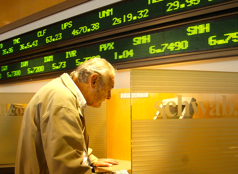 The discount brokerage business is consolidating. (AP)