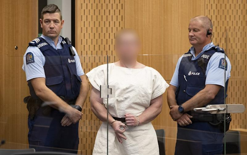 Christchurch Massacre suspect Brenton Tarrant appears in court. - Getty Images AsiaPac